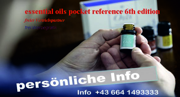 essential oils pocket reference 6th edition
